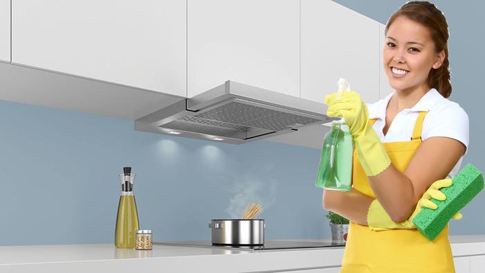 Các bước cần thực hiện để vệ sinh máy hút mùi tại nhà