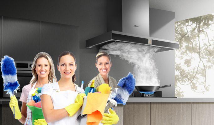 Dịch vụ vệ sinh máy hút mùi tại nhà